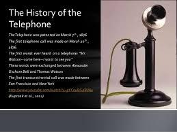 Profile America: First Telephone Call - The Bronx Chronicle