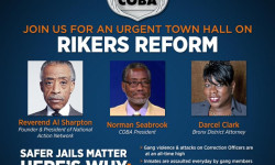 NAN Town Hall On Rikers Island Reform, February 22