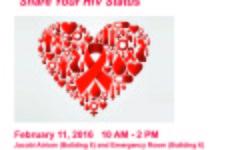 Valentine's Day HIV Testing – 2/11/16 at Jacobi & NCBH