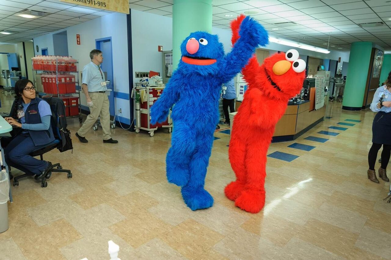 Sesame Street Live Friends Bring Cheer To Children At