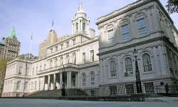 NY City Hall -- Council Chambers, East Wing