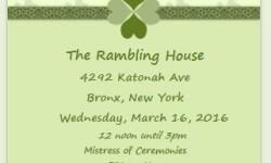 Bronx Irish Heritage Month 2016