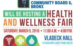 Health Fair – March 5, 2016