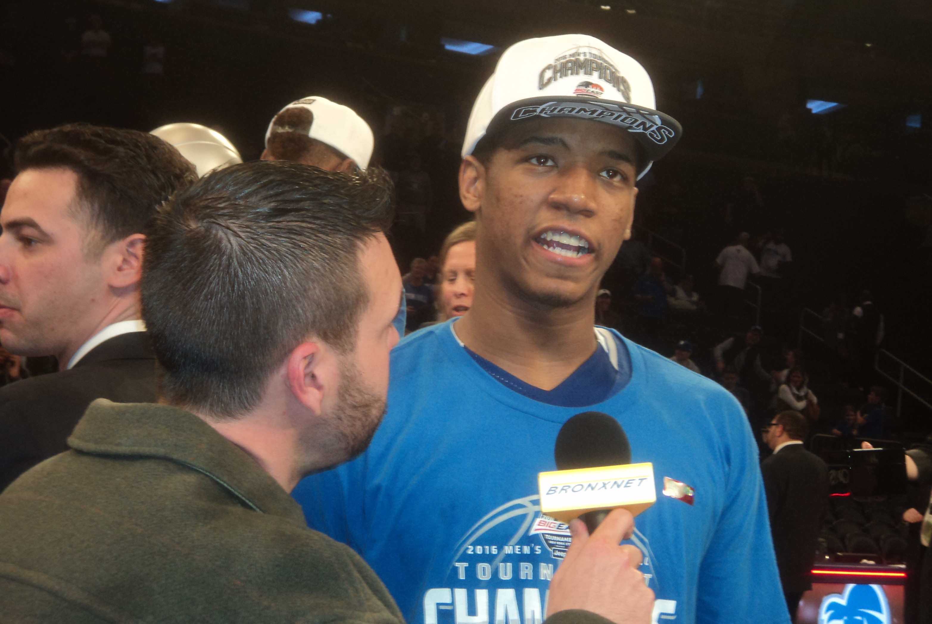 The Bronx's Desi Rodriguez Helped Seton Hall Upset Villanova, Capture Big East Crown