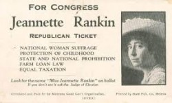 Profile America: Jeannette Rankin, First Woman To Serve In Congress