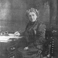 Josephine Cochran, inventor of the automatic dishwasher.