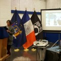 Deputy Mayor Dr. Herminia Palacio delivers a local version of SOTC 2016. Photo credit: The Bronx Chronicle