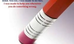 Profile America: The Rubber Pencil Eraser
