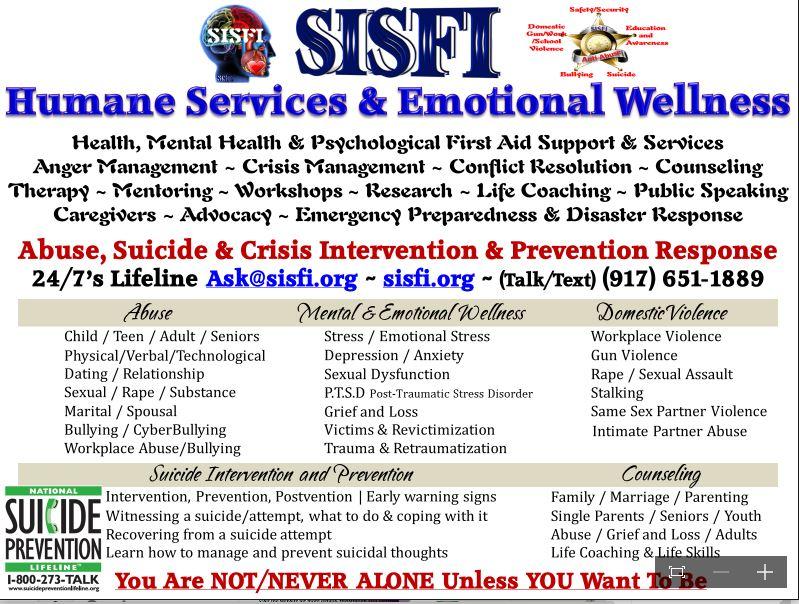 SISFI Wellness Flyer