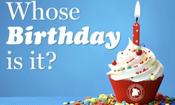 Whose Birthday Is It? April 30, 2016