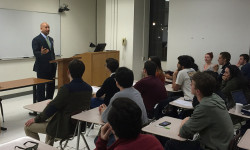 Diaz Visits Fordham University College Democrats