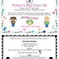 AIM Mother's Day Clean Up - Meeting Reminder Flyer