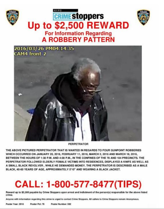 CrimeStoppers_Bronx Robbery Pattern_04062016