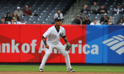 Starlin Castro, NY Yankees. Photo credit: Gary Quintal.