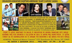 Humanitarian Event by the Albanian American Open Hand Association