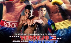 Keeping It In The Ring: TOP RANK RETURNS TO MADISON SQUARE GARDEN WITH VERDEJO