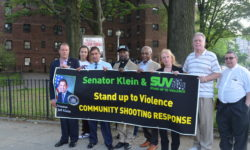 Klein, Gjonaj Rally Against Gun Violence