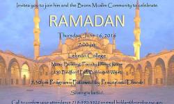 Ramadan Celebration 6/16/16