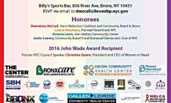 6th Annual Bx Boro Pres & Allies LGBTQ Pride Awards Ceremony 6/1/16