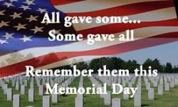 This Memorial Day