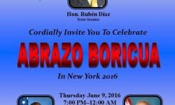 Abrazo Boricua In New York, June 9