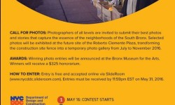 South Bronx Photo Contest Entry Deadline Tonight