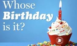 Whose Birthday Is It? June 1, 2016