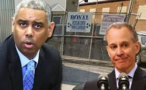 NY AG Eric Schneiderman has indicted CM Ruben Wills for allegedly stealing more than $30,000 in state grants sent to a nonprofit he founded New York 4 Life. Wills is also accused of scamming the city Campaign Finance Board by accepting public matching funds to pay Micro Targeting for helping with Wills' failed 2009 City Council bid. Micro Targeting was allegedly set up as a pass-through scheme to steal those funds.