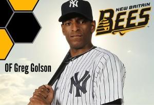 Greg Golson, OF, New Britain Bees (ALPB)