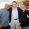 Ray Negron, Hank Steinbrenner, Rich Mancuso