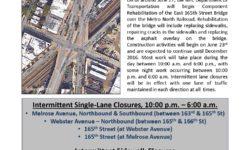165th Street over the Metro North Railroad Component Rehabilitation