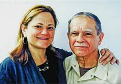 Council Speaker Mark-Viverito and imprisoned Puerto Rican nationalist Oscar Lopez Rivera