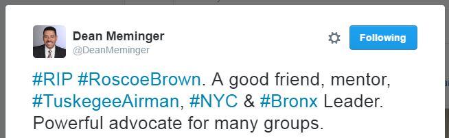 Roscoe Brown_Dean Meminger-Twitter