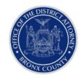 Bronx DA emblem