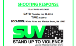 Community Rally: Stand Up To Violence