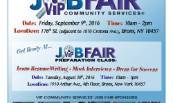 VIP Community Services Job Fair
