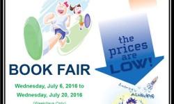 Book Fair at Jacobi Medical Center 7/20/16