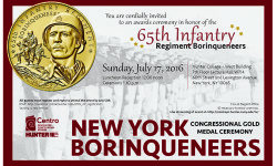 Center for Puerto Rican Studies To Host New York Borinqueneers Congressional Gold Medal Ceremony, July 19