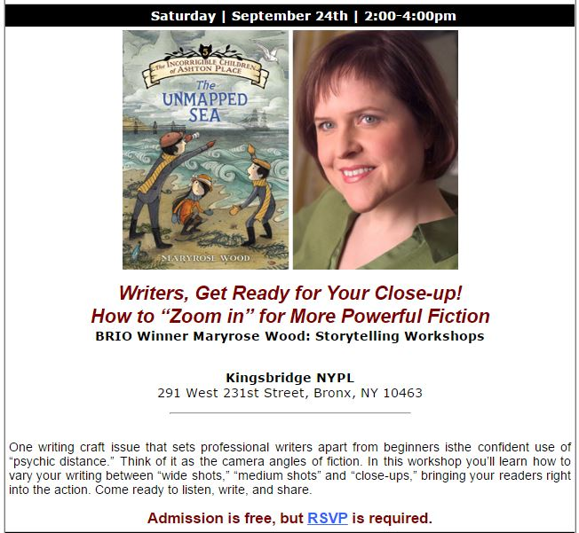 BCA Fiction Workshop