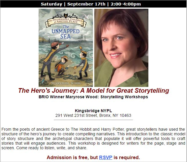 BCA Storytelling Workshop
