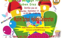 Muslim School Holiday Celebration, Presented by BP Diaz