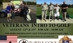 Veterans Intro to Golf, August 12 & 13