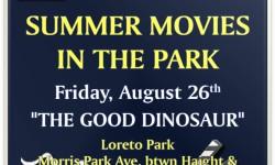 """Sen. Jeff Klein Hosts """"Summer Movies in the Park"""""""