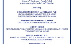 R.A.I.N. Total Care Hosts 52nd Founder's Ball Anniversary