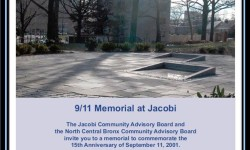 9/11 Memorial Procession at Jacobi Medical Center