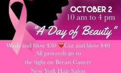 A Day of Beauty and Charity at New York Hair Salon – October 2nd