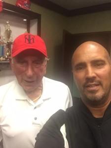 Tom Giordano (left) and Tony Melendez (r).