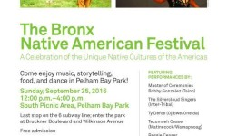 Bronx Native American Festival at Pelham Bay Park – September 25th