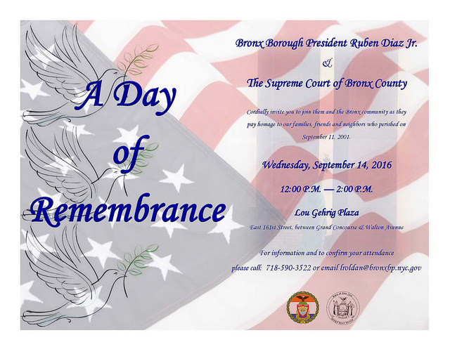 The Bronx Remembers September 11