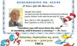 YMCA Open House: Celebrating The Life and Times of Dr. Seuss